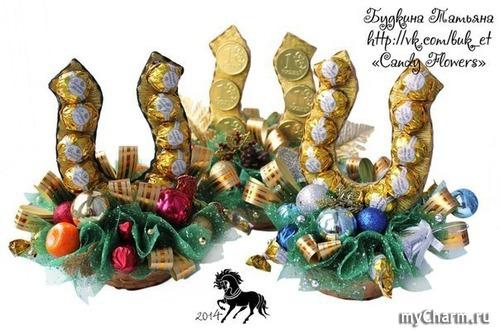 Новогодний подарок своими руками конфеты