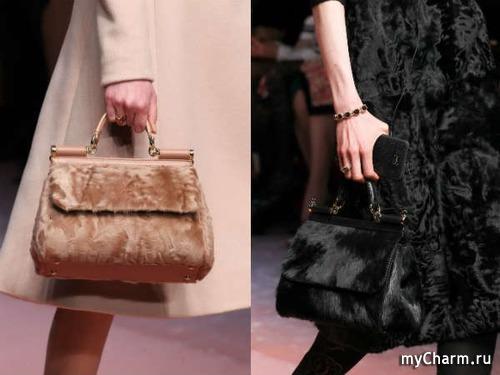 Сумки. Мода осень-зима 2015-2016.