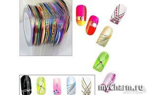 Мастер-классы с лентами для дизайна ногтей.