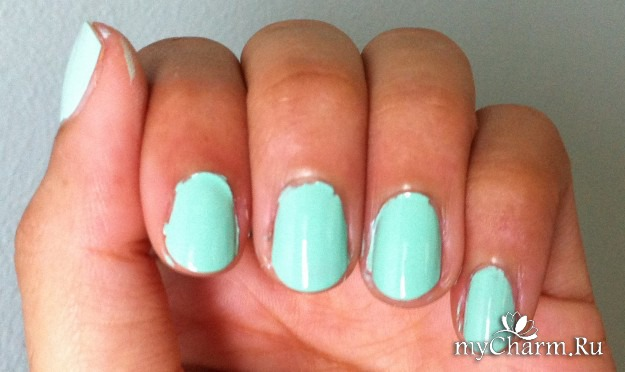 Накрасить ногти разным лаком в домашних условиях