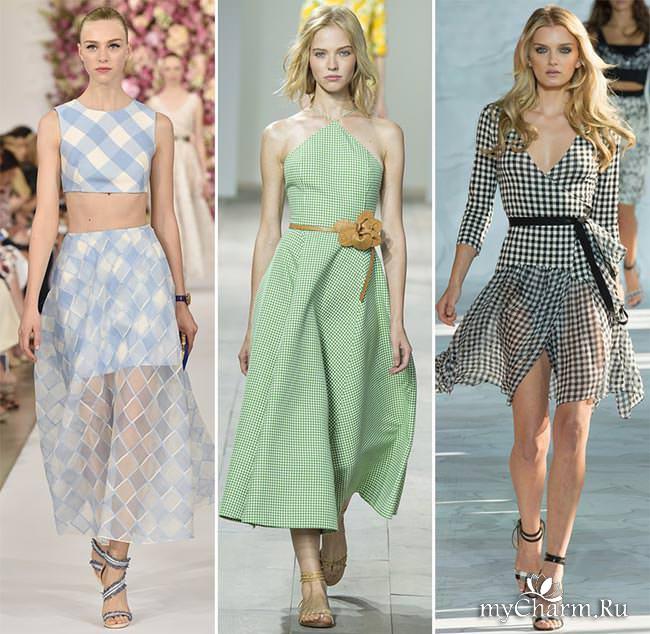 модный принт весна 2015