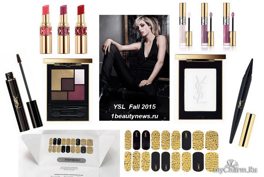 Ysl fall rock, edgy and