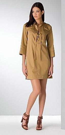 Платье Сафари Из Льна 86