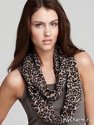 модные шарфы весна-лето 2015