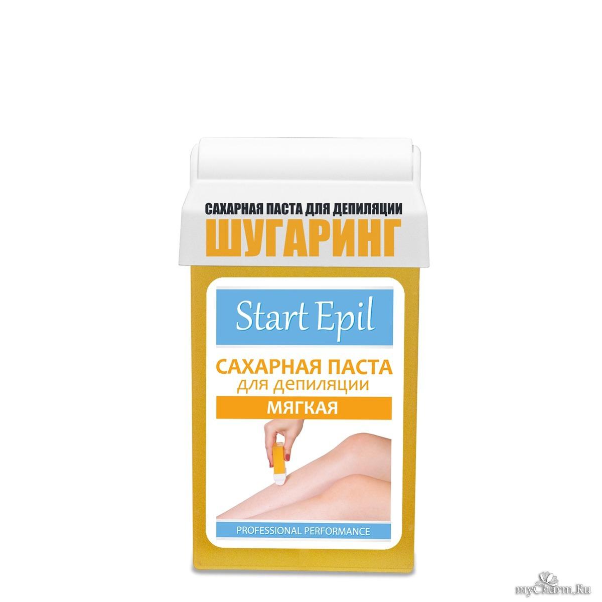 start epil сахарная паста для депиляции плотная
