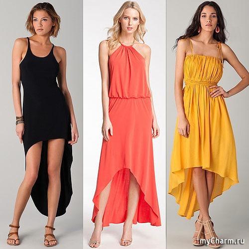 Подходящие платья для высоких девушек
