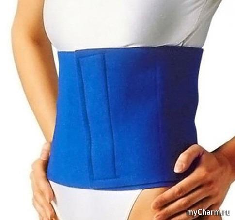 пояс убрать жир живота