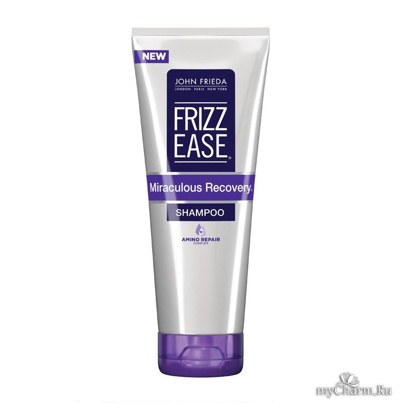 John Frieda Шампунь для интенсивного укрепления непослушных волос Frizz Ease Miraculous Recovery, 250 мл