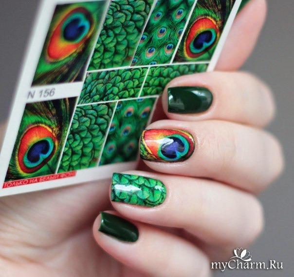 Слайдер дизайны ногтей