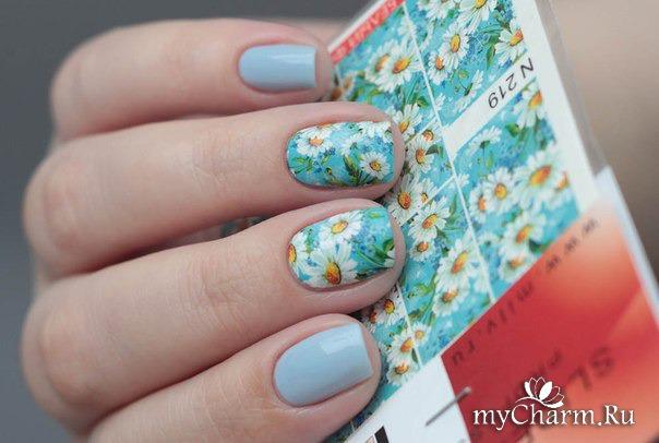 Слайд дизайн для ногтей