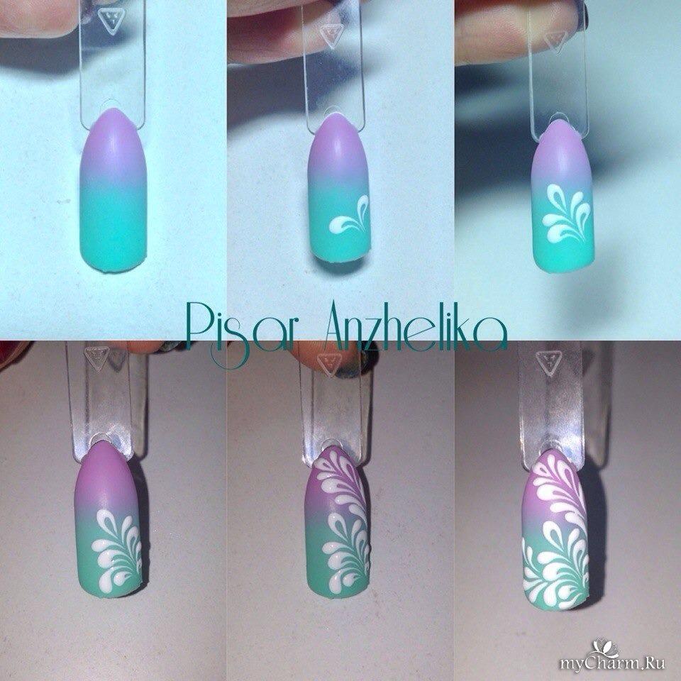 Гелевый дизайн ногтей мастер класс