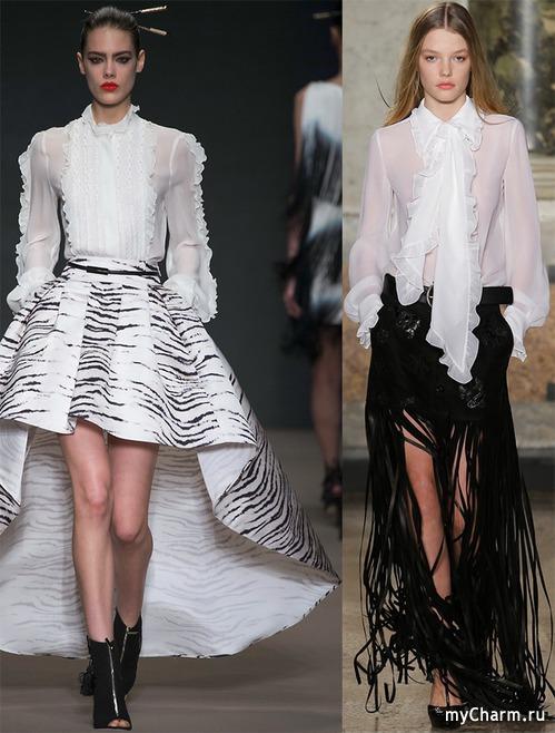 Блузки от дизайнеров