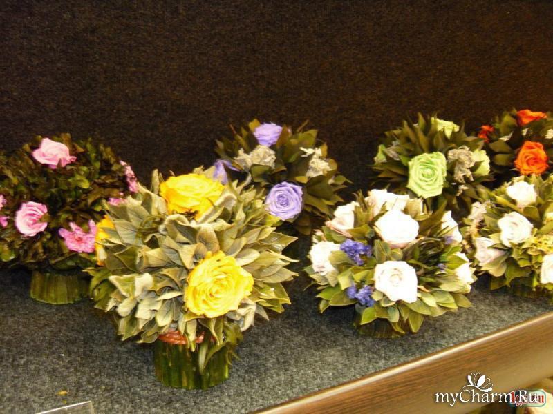 Стабилизированные цветы своими руками мастер 315