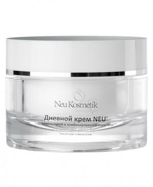 Уход за лицом с гомеопатическим дневным кремом от Neu Kosmetik