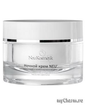Ночное гомеопатическое восстановление кожи от Neu Kosmetik