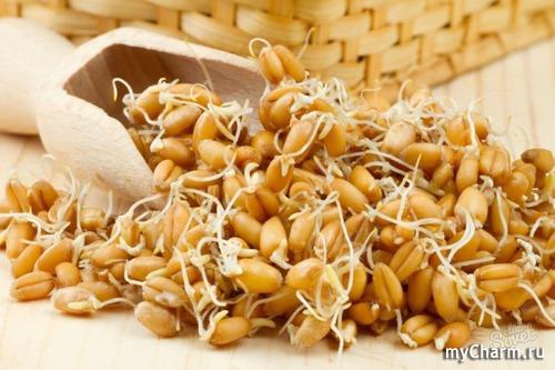 Проросшая пшеница при беремен