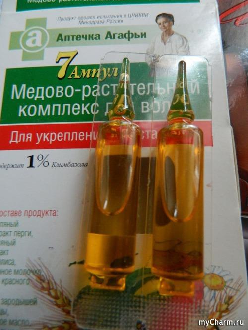 Медово-растительный комплекс для волос купить