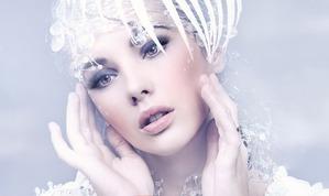 Мой зимне-новогодний макияж.