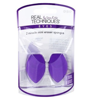 Real Techniques Набор из 2 корректирующих спонжей 2 Miracle Mini Eraser Sponges