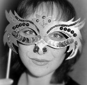 """Новогодняя маска """"Петушок"""""""