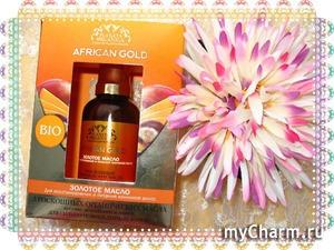 ''Африканское золото'' для волос от Планета Органика