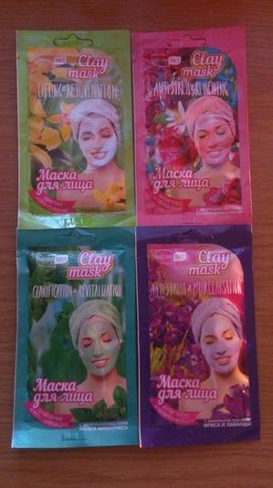 Маски для лица Clay mask от NATURAЛИСТ