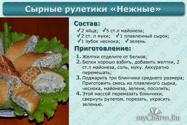 Рецепты простых блюд с фото