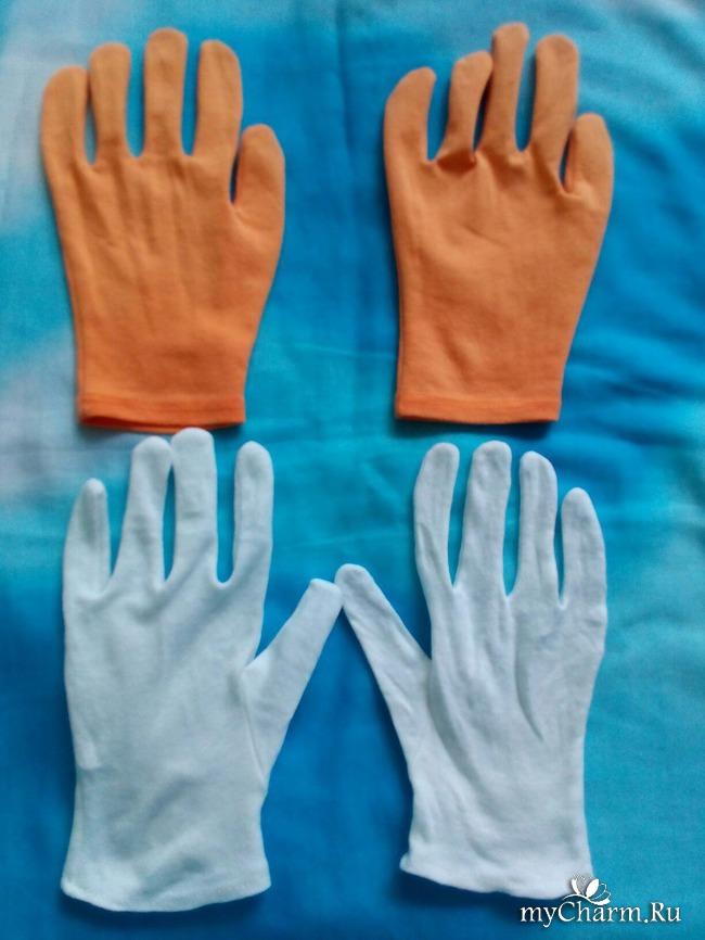 Хлопчатобумажные перчатки косметические своими руками 471