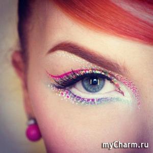 Новый летний тренд в макияже: стрелки-конфетти