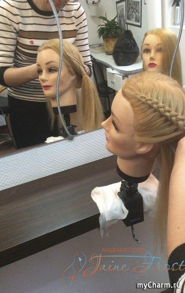 Прическа коса для длинных волос для девочки