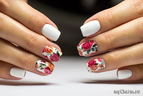Дизайн ногтей 2017 новинки лето с наклейками