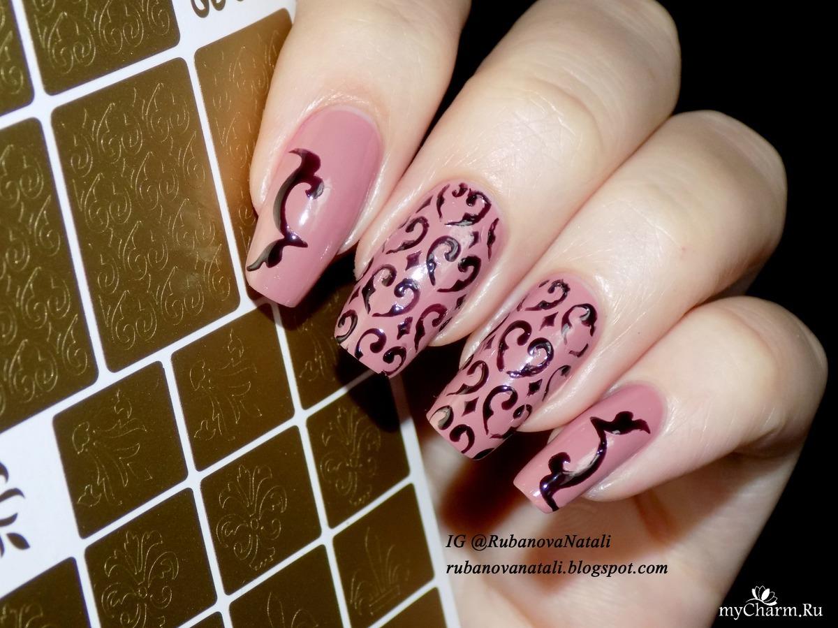 Трафареты для ногтей фирмы