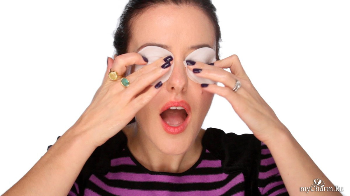 Снятие глаза в домашних условиях