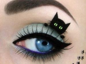 Необычные коты или макияж от Таль Фалек