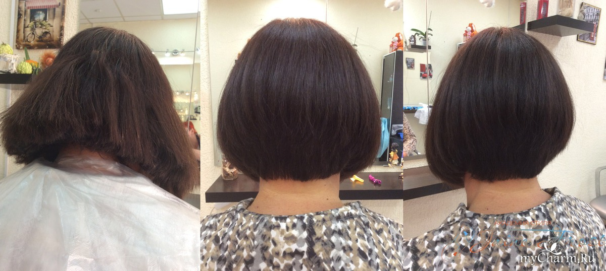 Короткая стрижка на густые и жесткие волосы