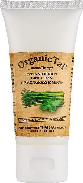 """Organic Tai / Экстраувлажняющий крем для ног """"Лемонграсс и Мята"""""""