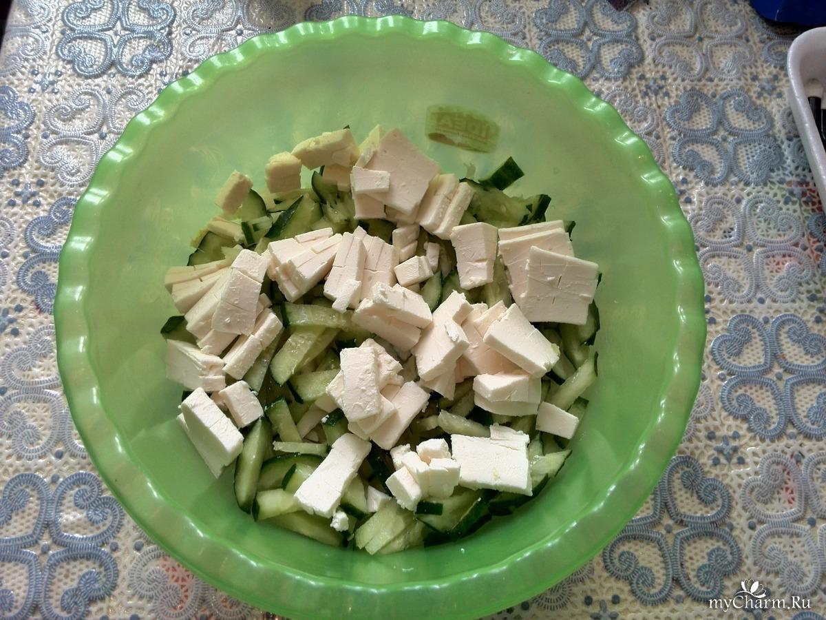 Легкий салат в домашних условиях рецепт с фото