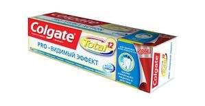 Colgate Total Pro «Видимый эффект»: здоровье, которое видно