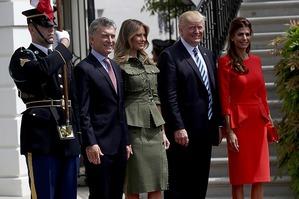 Мелания Трамп выбрала стиль милитари