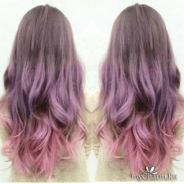 Colorful hair dye job  oddlysatisfying
