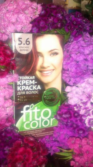 Понравилась краска для волос от Fitокосметик