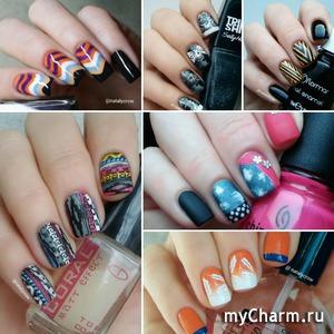 Дизайн ногтей в стиле веяний fashion-индустрии.