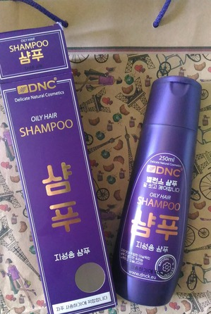 Отличный корейский шампунь без сульфатов от DNC