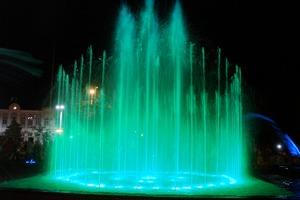 Музыкальный фонтан в Евпатории