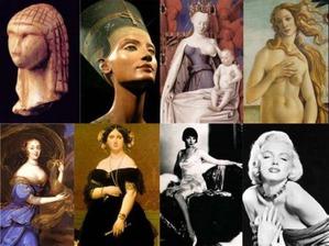 Женская красота в разные эпохи