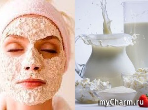 Готовим маски для лица из творога в домашних условиях