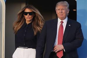 Новый ослепительный образ Мелании Трамп