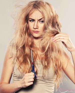 Глубокое тонирование - отличный вариант окрашивания для поврежденных волос