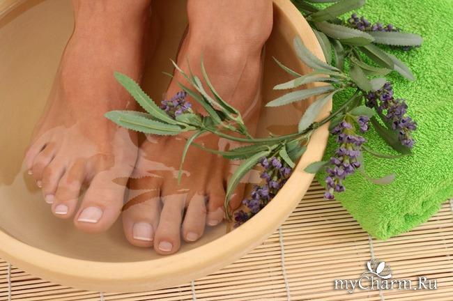 Ванночки против усталости ног