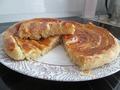Пирог  витой с сыром